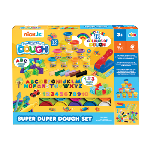 Nick Jr Ready Steady Dough 豪華模具套裝