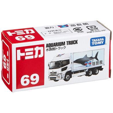 Tomica多美 車仔 Bx069 三菱 Fuso Aquarium Truck
