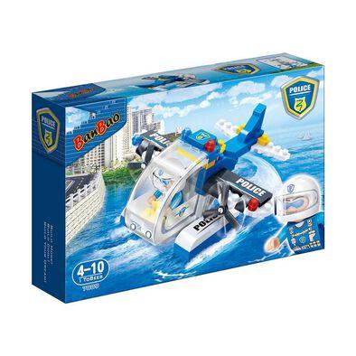 Banbao邦寶 警察局直升機套裝