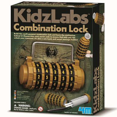 4M Kidz Labs Combination Lock