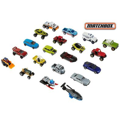 Matchbox火柴盒小汽車 20架車仔優惠裝