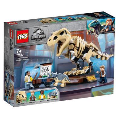 LEGO樂高侏羅紀世界系列 T. rex Dinosaur Fossil Exhibition 76940