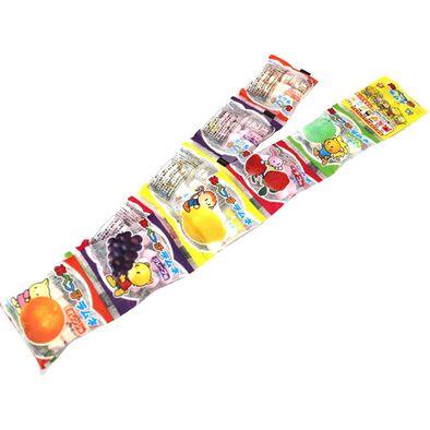 Abeseika安部製菓 水果味波子汽水糖 (10連包)