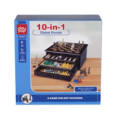 Play Pop 10合1棋盤策略遊戲
