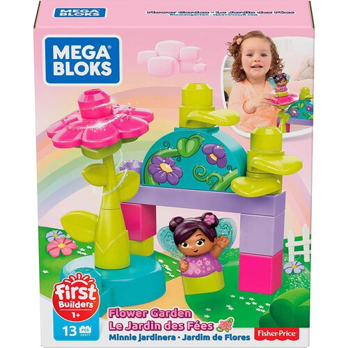 Mega Bloks美高積木first Builders系列花卉園