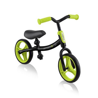 Globber高樂寶 Go Bike 幼兒平衡車 (黑色/綠色)