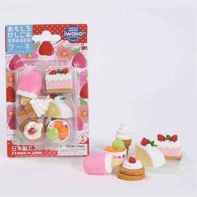 Iwako岩澤 雪糕及蛋糕造型擦膠