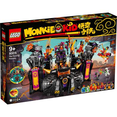 LEGO Monkie Kid 牛魔王烈火基地 80016