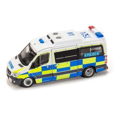 Tiny微影 城市 172 合金車仔 - 平治 Sprinter Facelift 警察交通部 (AM7524)