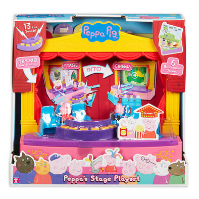 Toy Options Peppa Pig粉紅豬小妹-角色故事舞台組