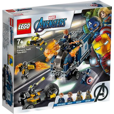 LEGO樂高漫威超級英雄系列 LEGO Marvel Avengers Avengers Truck Take-Down 76143