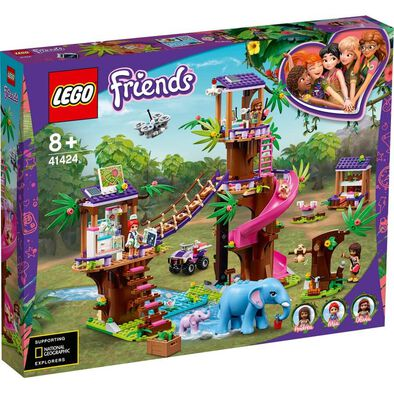 LEGO Friends 小動物樹屋之家 41424