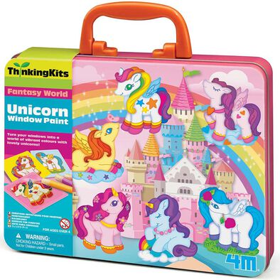 4M Thinking Kits Unicorn Window Paints