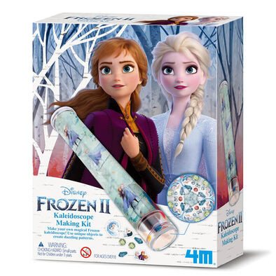 4M Disney Frozen Ii Kaleidoscope Making Kit