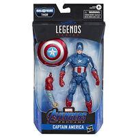 "Marvel漫威legends 系列復仇者聯盟 4: 終局之戰6"" 美國隊長"