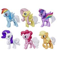 My Little Pony小馬寶莉彩虹尾巴驚喜 -- 6 個變色小馬玩偶收藏套裝