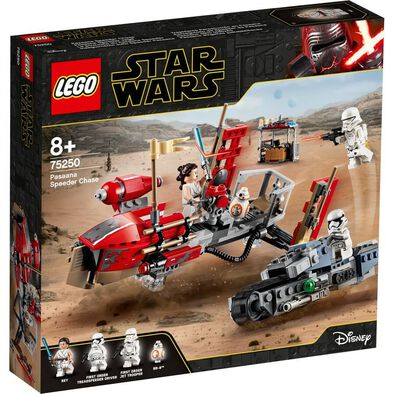 LEGO樂高星球大戰系列Pasaana Speeder Chase 75250