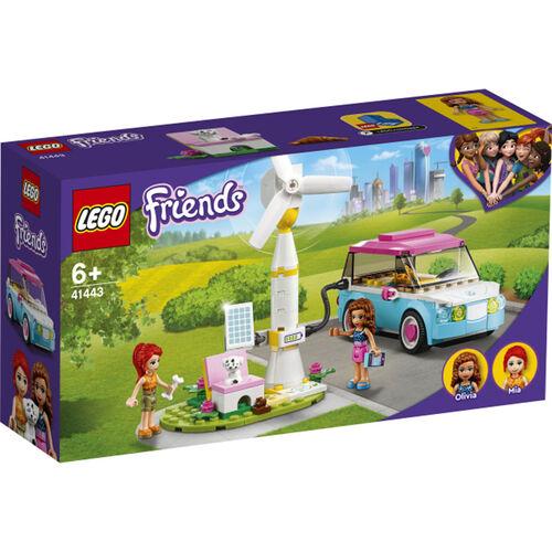 LEGO樂高好朋友系列 Olivia 的電動車 - 41443