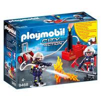 Playmobil摩比世界消防小隊