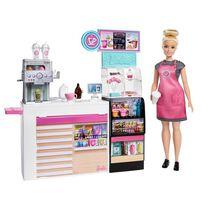 Barbie芭比咖啡店組合連娃娃