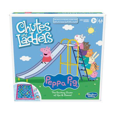 Peppa Pig粉紅豬小妹 滑梯與爬樓梯小遊戲