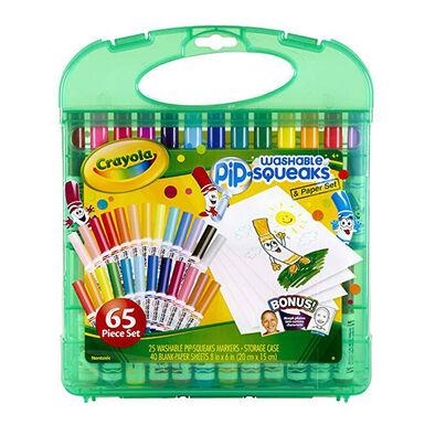 Crayola繪兒樂可水洗水彩筆65支裝