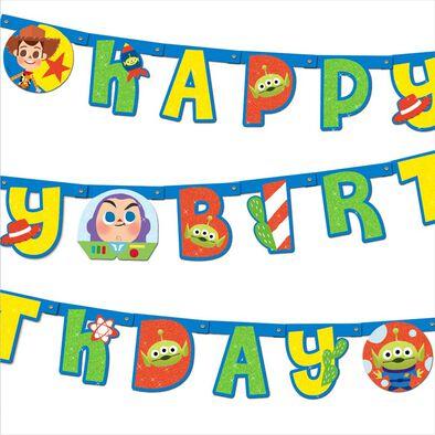 Toy Story Birthday Banner