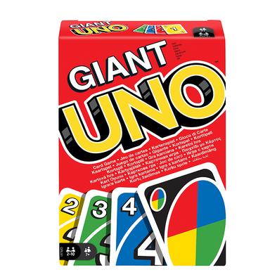 Mattel Games美泰兒遊戲  巨型 Uno 遊戲卡