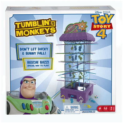 Toy Story反斗奇兵 4 快落馬騮遊戲
