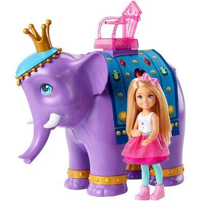 Barbie芭比夢托邦小凱莉與貴族紫象