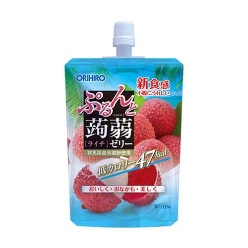 Orihiro Konjak 低卡路里荔枝味蒟蒻飲品 130G