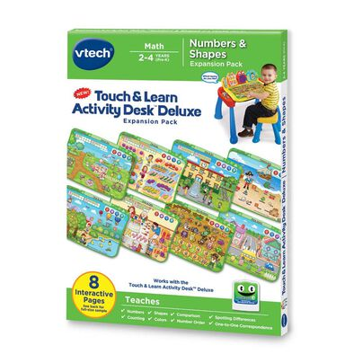 Vtech T&L Activity Desk - Numbers And Shapes