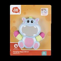 Top Tots Hanging Hippo Mirror
