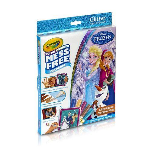 Crayola繪兒樂 迪士尼魔雪奇緣 閃光盒套裝