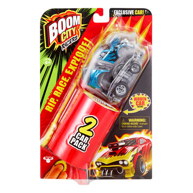 Boom City Racers 城市爆碰車-雙車裝系列一