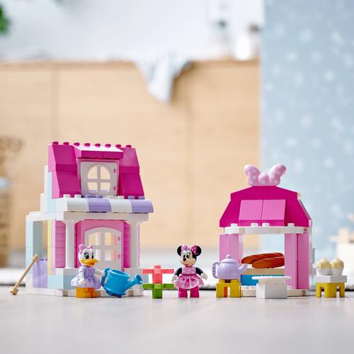 LEGO樂高得寶系列 米妮的家和咖啡廳 10942