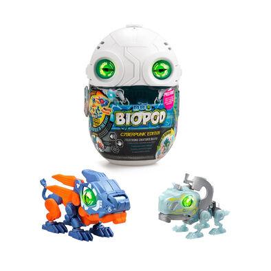 SilverLit銀輝 魔動獸球-數碼龐克 兩件套裝 (金屬色/夜光) 獅子及三角龍