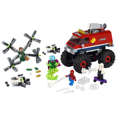 LEGO樂高漫威超級英雄系列 Spider-Man's Monster Truck vs. Mysterio - 76174