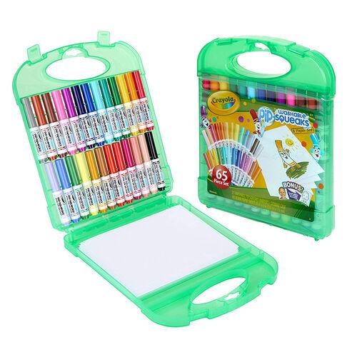 Crayola繪兒樂 可水洗水彩筆65支裝
