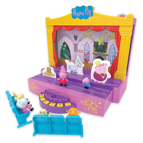 Peppa Pig粉紅豬小妹 角色故事舞台組