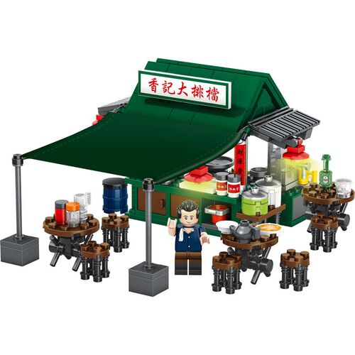 City Story 小城故事 拼裝積木 : 大排檔