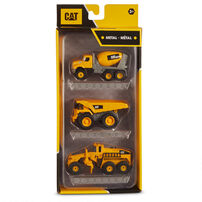 Cat卡特比勒 金屬系列車輛3件裝 - 隨機發貨