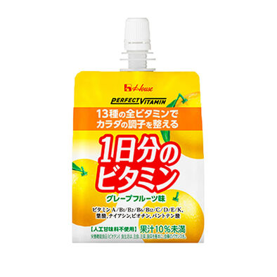 House Foods Perfect Vitamin一日維他命柚子啫喱飲品(不含人造甜味劑) 180G