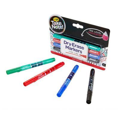 Crayola繪兒樂4色白板筆 - 幼咀