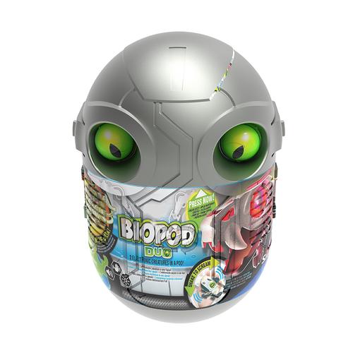 SilverLit銀輝 魔動獸球兩件套裝 (金屬色/夜光) 劍齒虎及短吻鱷