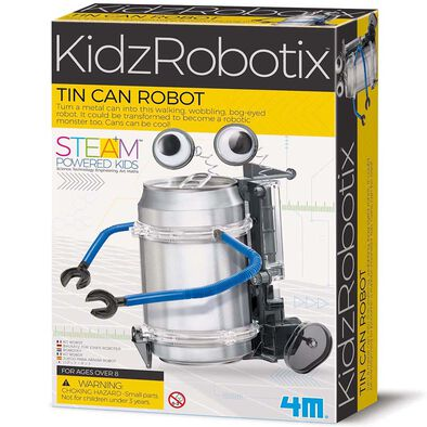 4M Kidzrobotix Tin Can Robot