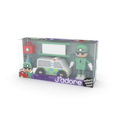 J'Adore 醫生小人禮盒套