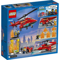 LEGO樂高城市系列 消防救援直升機 - 60281