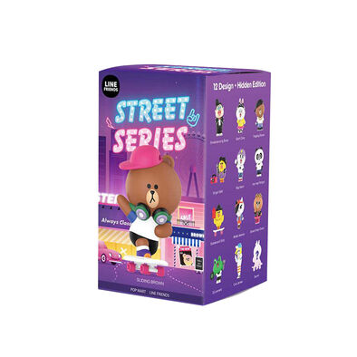 Pop Mart Line Friends Street Series - Assorted
