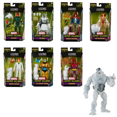 Marvel Legends Villain set with 7 figures